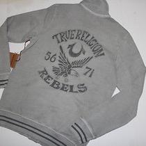 True Religion Sweater Rebels  Eagle Cardigan Small S    Photo