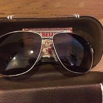 True Religion Unisex Dakota Gold Frame/brown Lens Aviator 65mm Sunglasses Photo