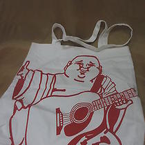 True Religion -White Fabric  Tote Bag..can Be Unisex...new Photo
