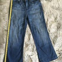 True Religion Wide-Leg Crop Jeans Size 26 Light Blue Photo