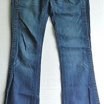 True Religion Women's 26 World Tour Section Sammy Row Seat Blue Jeans Photo