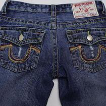 True Religion Women's Joey Jeans Flare Low Rise Sz 29 (Row 32 Seat 34) Photo