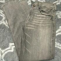 True Religion Womens Rn112790 Ca30427  Gray/black Denim Jeans Pants Size 38 Photo
