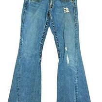 True Religion Womens Blue Jeans Boot Cut Size 29  Photo