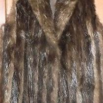 True Vintage 1970's Beaver Fur Vest Medium/large.  Rachel Zoe Style. Photo