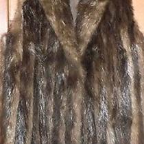 True Vintage 1970's Beaver Fur Vest Medium/large.  Rachel Zoe Style. Photo