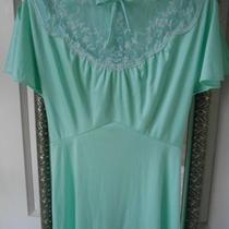 True Vintage Light Green/aqua Bridesmaid Dress Size 4 Photo