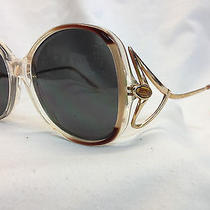 True Vintage Nos Sunglasses Givenchy Uv400 Lenses Panache Fancy Temples France Photo