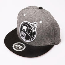 Trukfit Lil Wayne Clothing Feelin' Spacey Snapback Cap - Heather Grey Photo
