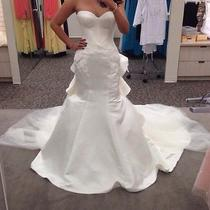 Truly Zac Posen Wedding Dress Size 6 Photo
