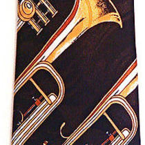 Trumpets Music Instruments Musical Men's Novelty Necktie Neck Tie Steven Harris Photo