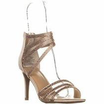 Ts35 Karlee2 Strappy Evening Sandals Blush Blush Size 9.5 U3td Photo