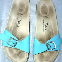 Tula by Birkenstock Aqua One-Strap Sandal Size 37.5 Us 6.5 Photo