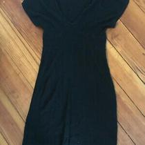 Tulle Anthropologie 100% Cotton v-Neck Sweater Dress Womens Medium M Photo