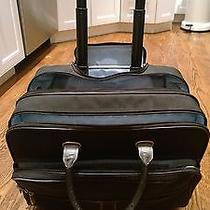 Tumi Deluxe Wheeled Brief With Padded Laptop Case Elements Collection Like New Photo