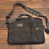Tumi T-Pass Medium Computer Bag - Black Ballistic Photo