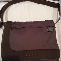 Tumi T Tech Brown Messenger Bag/crossbody Computer Bag Photo