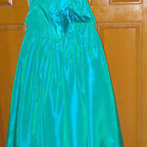 Turquoise Bridesmaid or Prom Gown