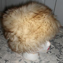Tuscan Italy Genuine Lambskin Lamb Skin Fur Hat Size 18 Small Woman Large Child Photo