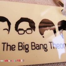 Tv Serious Big Bang Theory Characters Hairdo Keyring Key Chains Rectangle Wood Photo