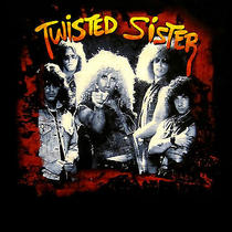 Twisted Sister Cd Cvr Stay Hungry I Wanna Rock Official Shirt Xl New Photo