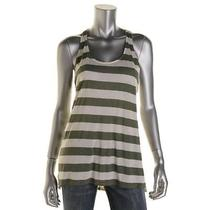 Two by Vince Camuto New Green Striped Racerback Sleeveless Tank Top S Bhfo Photo