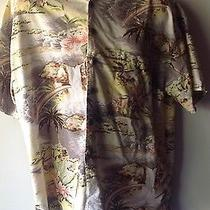 Two Hawaiian Shirts Both Size Xl One by Chiamare  and the Other  by Robert Stock Photo