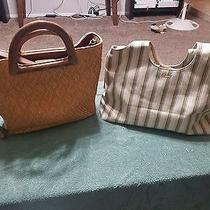 Two Large  Fossil Purses for an Great Price Photo