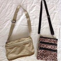 Two Le Sports Sac Cross Body Bags Purses Travel Accessories Photo