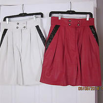 Two New Leather Skirts New Photo