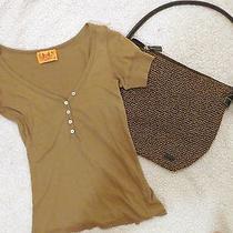 Two Piece Lot Juicy Couture Blouse the Sak Handbag Size S Photo