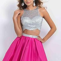 Two Piece Pink Homecoming Dress Size 4 by Blush Item 10075 Photo