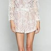 Two Sisters Lace Playsuit With Sheer Lace Sleeves. Sizes 6 - 12 Photo