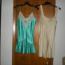 Two Victoria's Secret Chemise Nighties - Size Small Photo