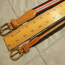 Two Xs Canvas Belts - Dooney Bourke and Talbots Photo
