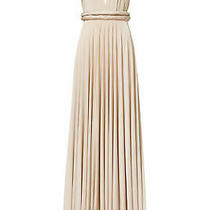 Twobirds Women Gown Gold Size 14-24 (B) Convertible Plunge Twist-Wrap 310- 979 Photo