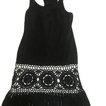 Tyler Jacobs Feel the Piece Womens Ombre Sleeveless Dress Blue Cotton Size Xs Photo