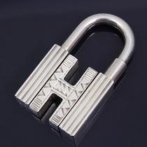 U2654 Xauthentic Hermes Cadena Tuareg Sterling Silver 925 Key Chain Ring Charm Photo