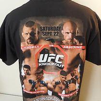 Ufc 76 Knockout Chuck Liddell vs Keith Jardine Xl T Shirt Griffin Shogun Sanchez Photo