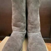 Ugg 5229 Youth Size 3 Grey Classic Boot Photo