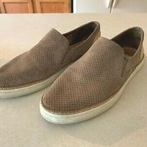 Ugg Adley Perf Women's Fashion Sneakers Suede Leather Slip on 1091749 Taupe Sz 9 Photo