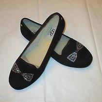 Ugg Alloway Crystal Bow Womens Slippers (Size 9) Photo