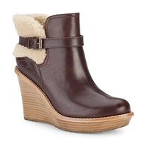 Ugg Anais Wedge Boot - Mahogany Color Photo