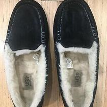 Ugg Ansley 3312 100% Authentic Size 7 Black Slippers Photo