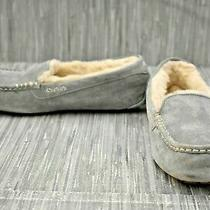 Ugg Ansley 3312 Moccasin Slippers Women's Size 10m Gray Photo