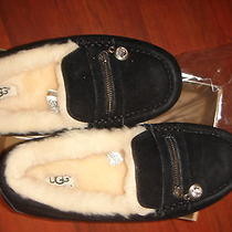 Ugg Ansley Charm Women's Slippers in Black Size 7 Photo