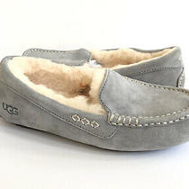 Ugg Ansley Light Grey Gray Shearling Lined Moccasin Shoe Us 10 / Eu 41 / Uk 8 Photo