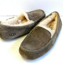 Ugg Ansley Women Slipper Suede Slate Us 6 /uk 4 /eu 37 /jp 23 Photo