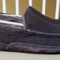 Ugg Ascot Uggpure Lined Slipper Moccasin Color Brown Men Size 10 Photo