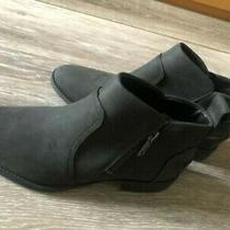 Ugg Aureo Ll Ankle Bootie Black Women's Waterproof Sz 8 Non Skid Sole New W/obox Photo